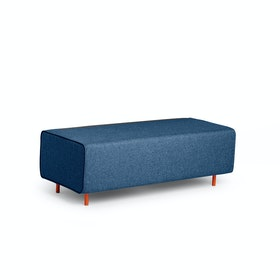 Dark Blue Block Party Lounge Bench,Dark Blue,hi-res