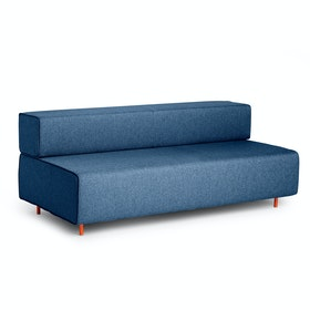 Dark Blue Block Party Lounge Sofa