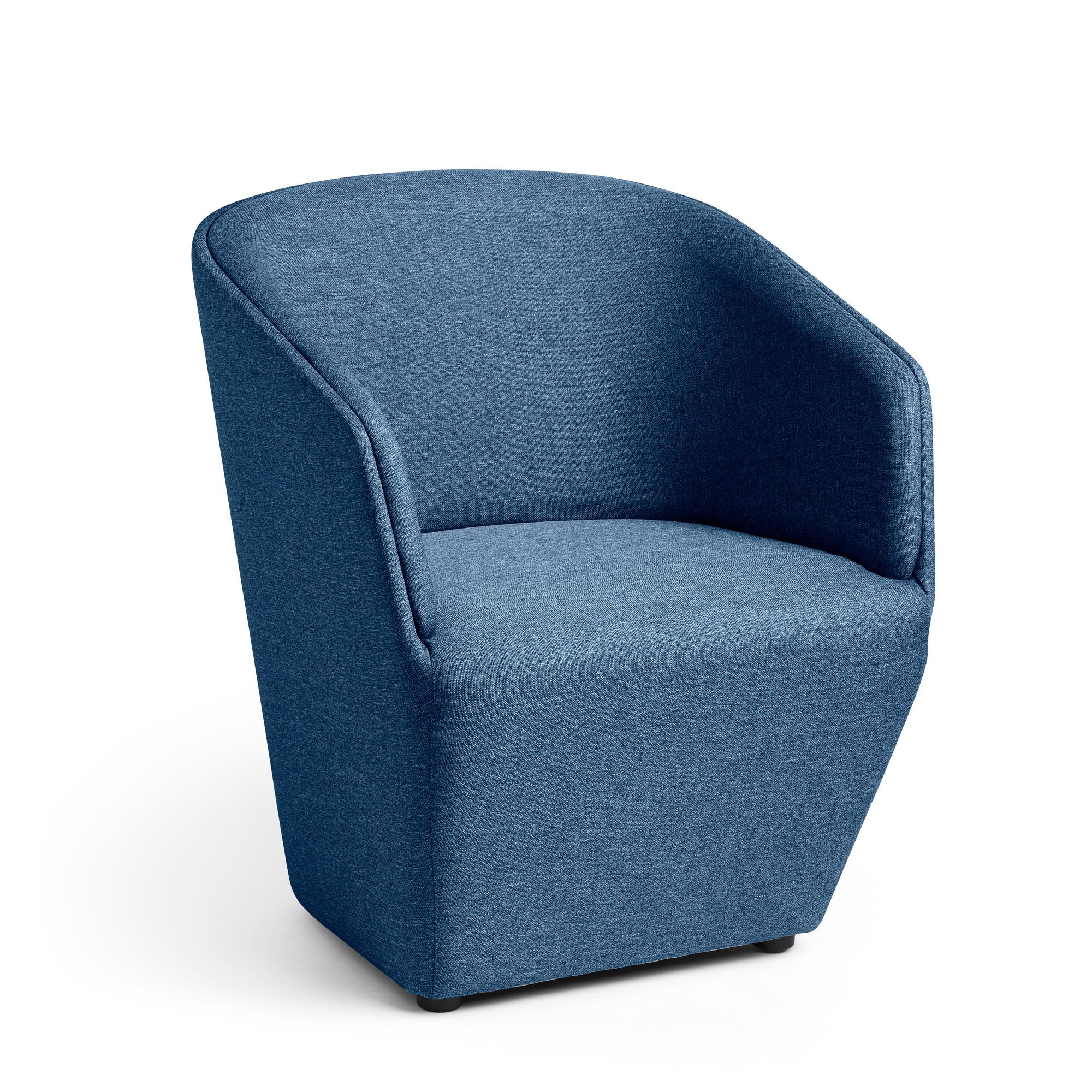 Dark Blue Pitch Club Chair Lounge Seating