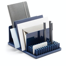Navy Home Base Desk Set,Navy,hi-res
