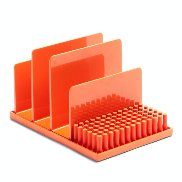 Orange Home Base Desk Set,Orange,hi-res