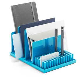 Pool Blue Home Base Desk Set