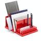 Red Home Base Desk Set,Red,hi-res