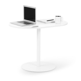 "White Tucker Lounge Table, 25""h,,hi-res"