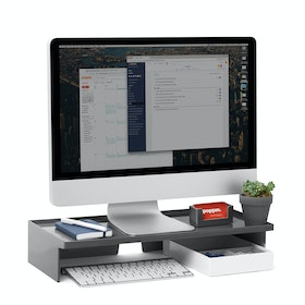 Dark Gray Monitor Riser