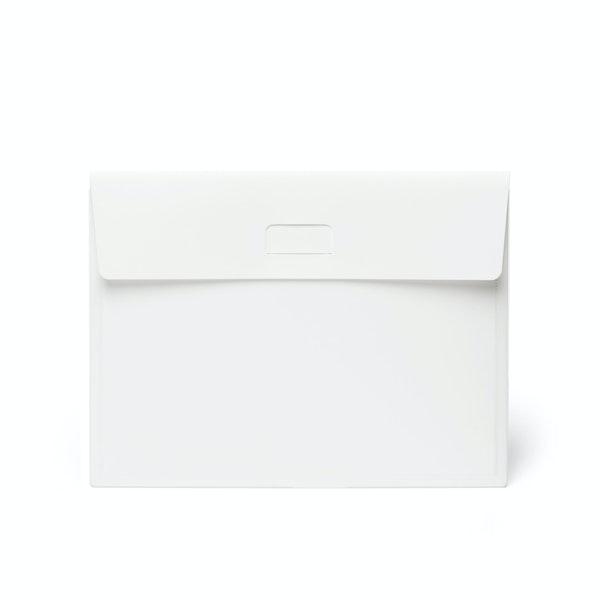White Tab Folio,White,hi-res