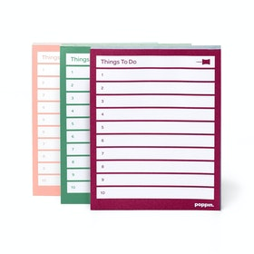 Assorted Task Pads, Set of 3, Blush/Sage/Wine,,hi-res