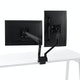 Black Swing Double Monitor Arm,Black,hi-res