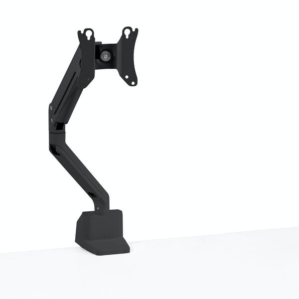 Black Swing Single Monitor Arm,Black,hi-res