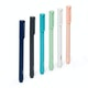 Modern Assorted Signature Ballpoint Pens, Set of 6,,hi-res