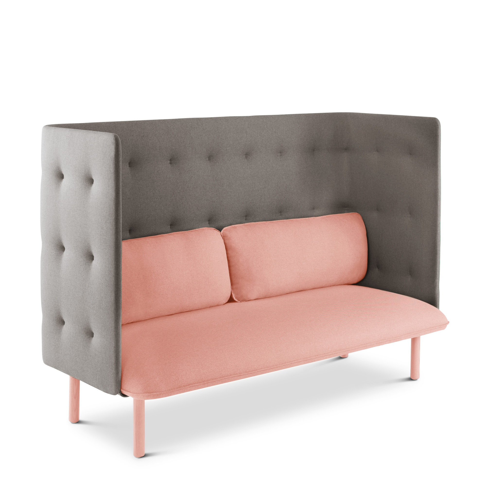 Blush Gray QT Lounge SofaBlushhi Res