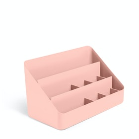 Blush Large Desk Organizer,Blush,hi-res