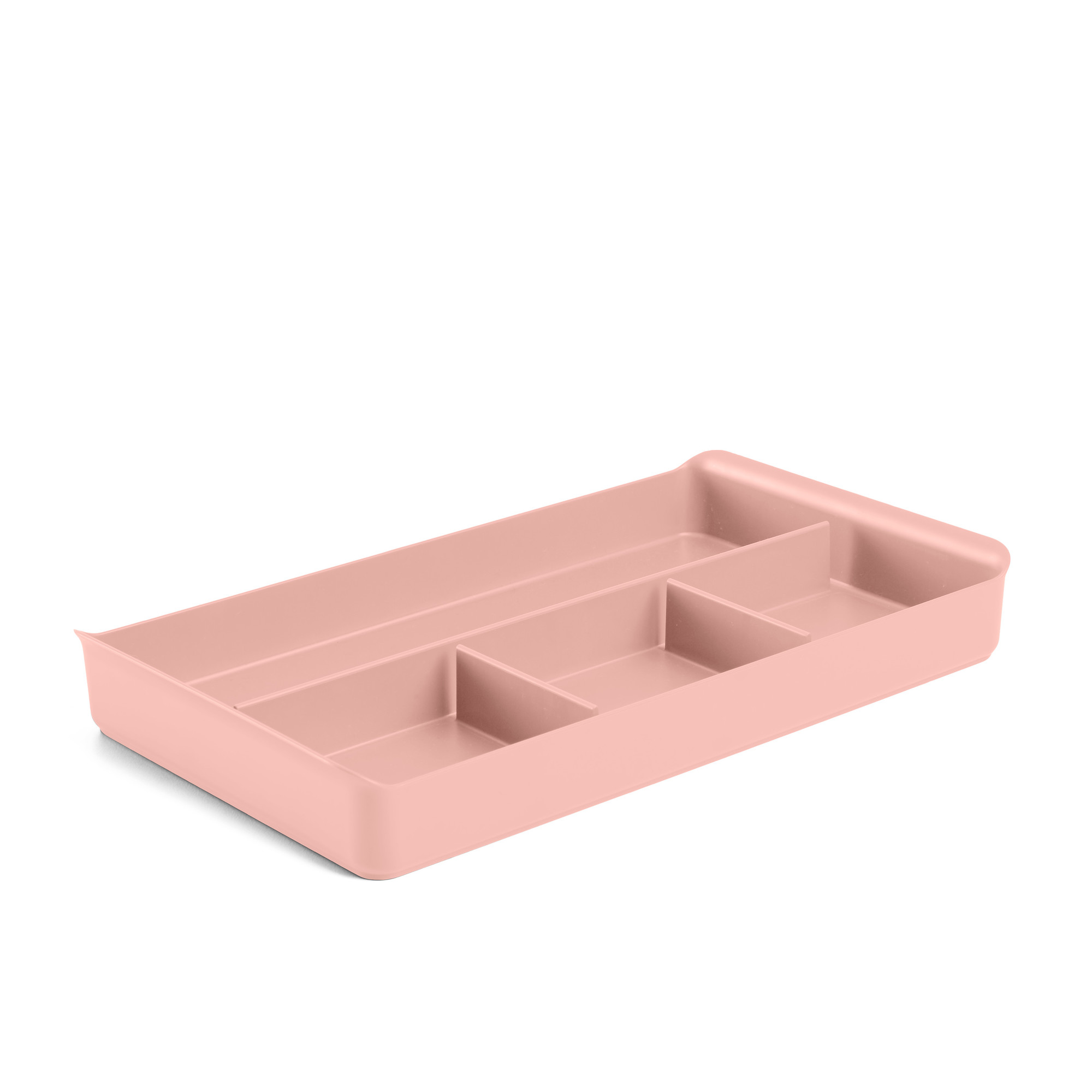 Blush Drawer Organizer File Cabinet