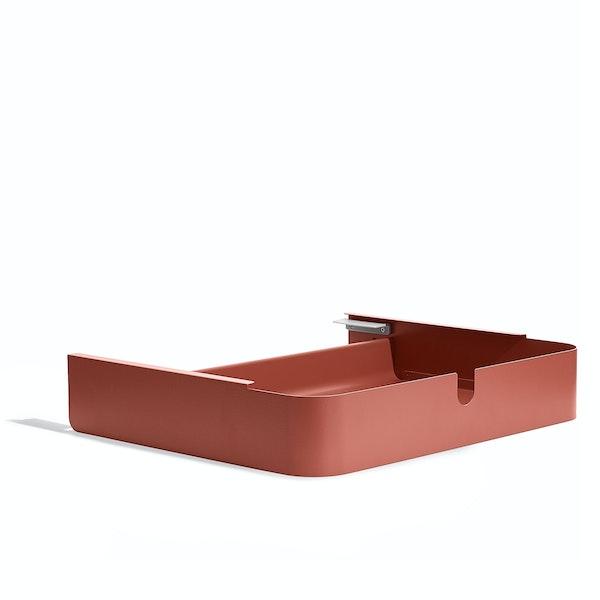Brick Key Desk Add-On Drawer,Brick,hi-res