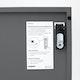 Charcoal Stash 6-Door Locker,Charcoal,hi-res