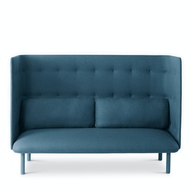 Dark Blue + Gray QT Lounge Sofa