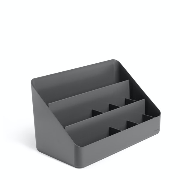 Dark Gray Large Desk Organizer,Dark Gray,hi-res