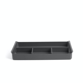 Dark Gray Drawer Organizer