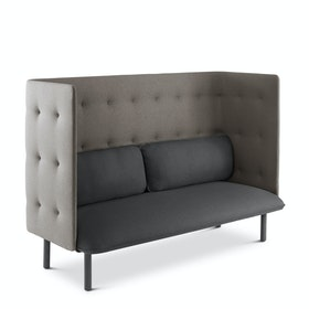 Dark Gray + Gray  QT Lounge Sofa