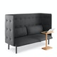 Dark Gray QT Lounge Sofa,Dark Gray,hi-res