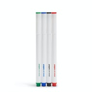 Slim Dry Erase Markers, Set of 4,,hi-res