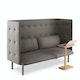 Gray QT Lounge Sofa,Gray,hi-res