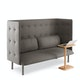 Gray + Brick QT Lounge Sofa,Gray,hi-res