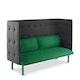 Leaf Green + Dark Gray QT Lounge Sofa,Leaf Green,hi-res