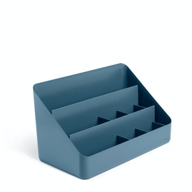 Slate Blue Large Desk Organizer,Slate Blue,hi-res