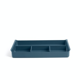 Slate Blue Drawer Organizer