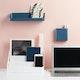 Slate Blue Wall Shelf,Slate Blue,hi-res