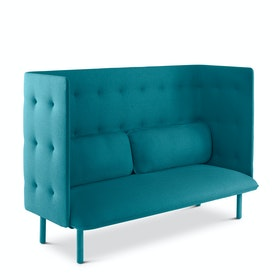 Teal QT Privacy Lounge Sofa
