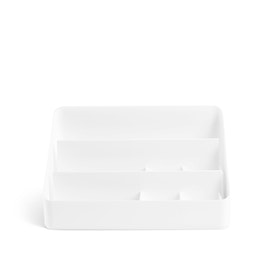 White Large Desk Organizer