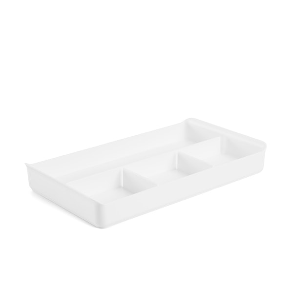 White Drawer Organizer,White,hi-res