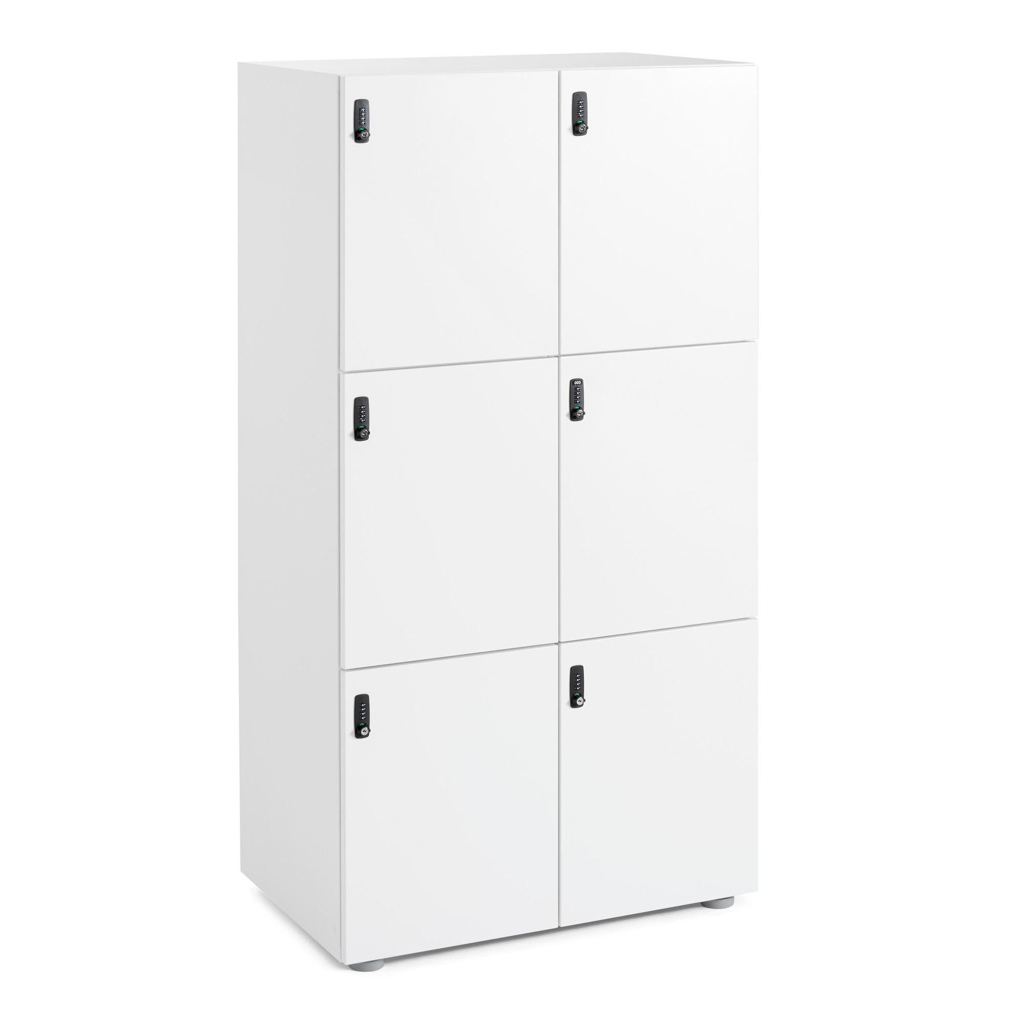 Images  sc 1 st  Poppin & White Stash 6-Door Locker | Lockers and Storage | Poppin