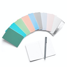 Mini Medley Assorted Pastels Soft Cover Notebooks, Set of 10