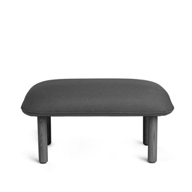 Dark Gray QT Privacy Lounge Ottoman,Dark Gray,hi-res