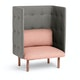 Blush + Gray QT Lounge Chair,Blush,hi-res