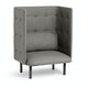 Gray QT Privacy Lounge Chair,Gray,hi-res