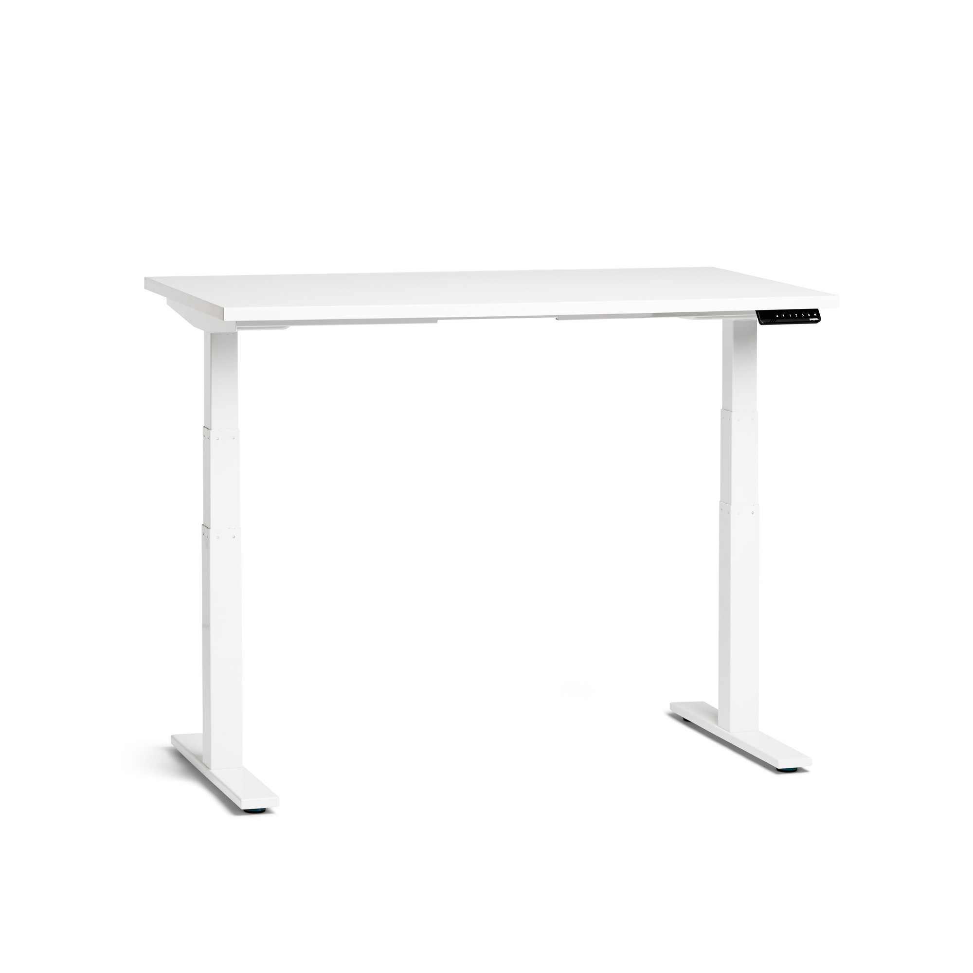 Images. Loft Adjustable Height Standing Single Desk ...