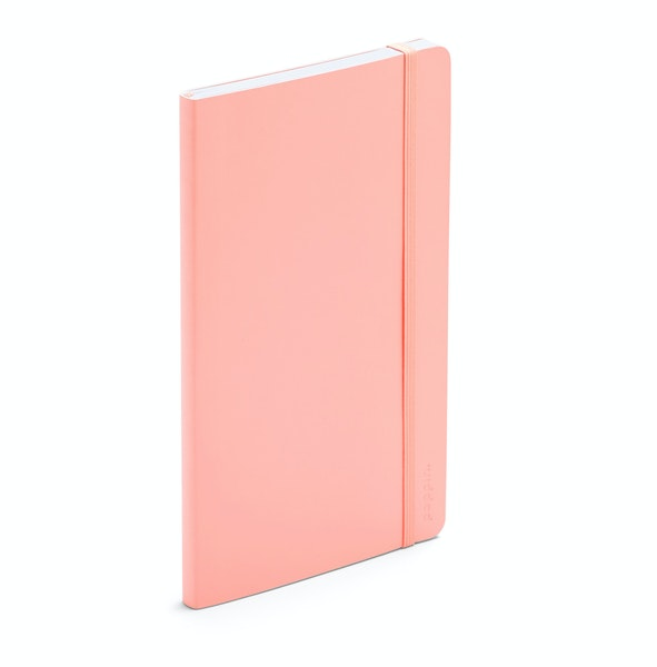 Blush Medium Soft Cover Notebook,Blush,hi-res
