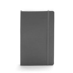 Dark Gray Medium Soft Cover Notebook
