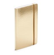 Gold Medium Soft Cover Notebook,Gold,hi-res