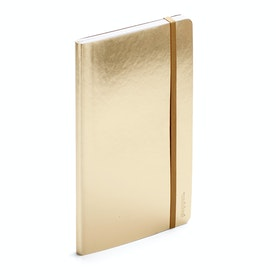 Gold Medium Soft Cover Notebook