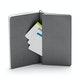 Custom Gunmetal Medium Soft Cover Notebook,Gunmetal,hi-res
