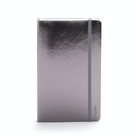 Gunmetal Medium Soft Cover Notebook