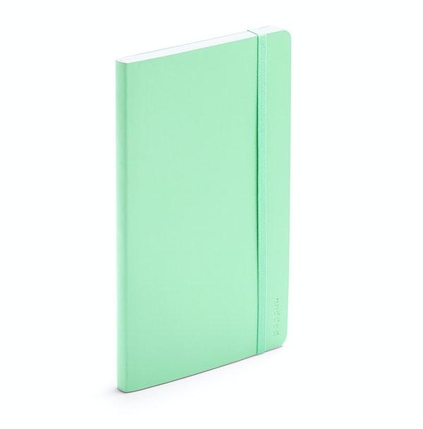Mint Medium Softcover Notebook,Mint,hi-res