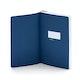 Navy Medium Soft Cover Notebook,Navy,hi-res
