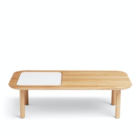 Natural Ash Take Note Coffee Table + Memo Pad