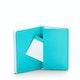 Aqua Small Soft Cover Notebook,Aqua,hi-res